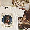 Топовая футболка Gucci.  Люкс реплика, фото 3