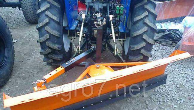 Отвал для трактора на заднюю навеску 2м
