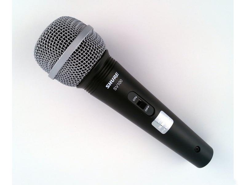 Вокальний мікрофон кардіоїдний динамічний SHURE SV100