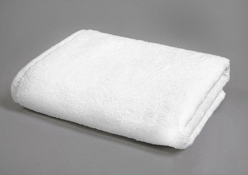 Полотенце махровое 50х90-Белое,500 гр/м²