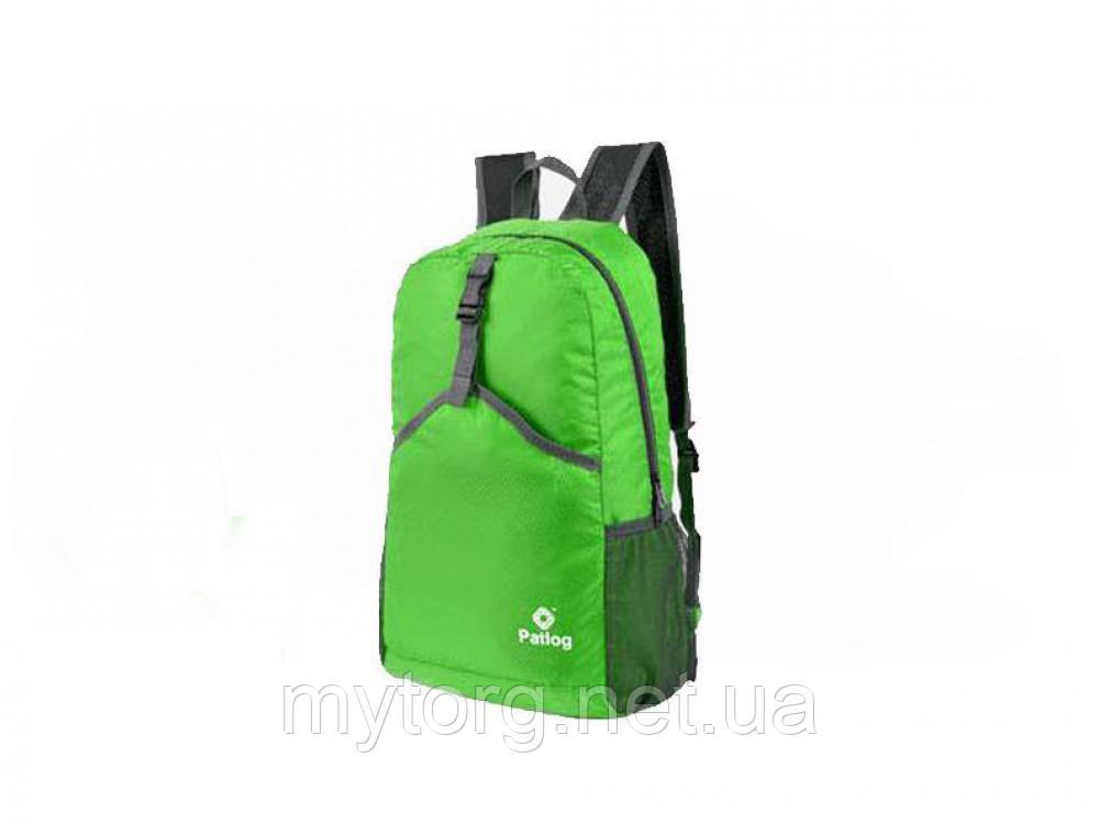 Велорюкзак Patlog, спортивный рюкзак. 23L  Зеленый