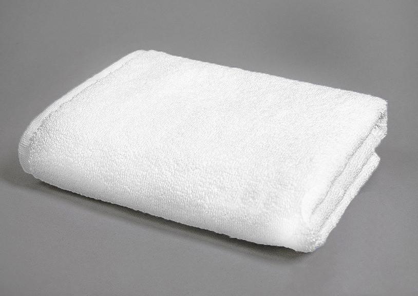Полотенце белое  махровое 70х140,500гр/м2