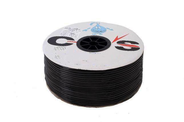 """Крапельна стрічка """"COS"""" з плоским емітером (раст.між емітером 20 см) 500 м - 0,8 L"""