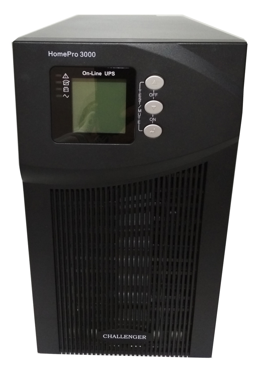 ИБП с двойным преобразованием Challenger HomePro 3000 - On-Line 3/2,7 кВт