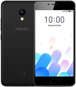 "Meizu M5C Black 2/16 Gb, 5"", MT6737, 3G, 4G"