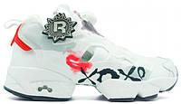 Женские кроссовки Reebok Instapump Fury XOXO White (Рибок Инста Памп) белые