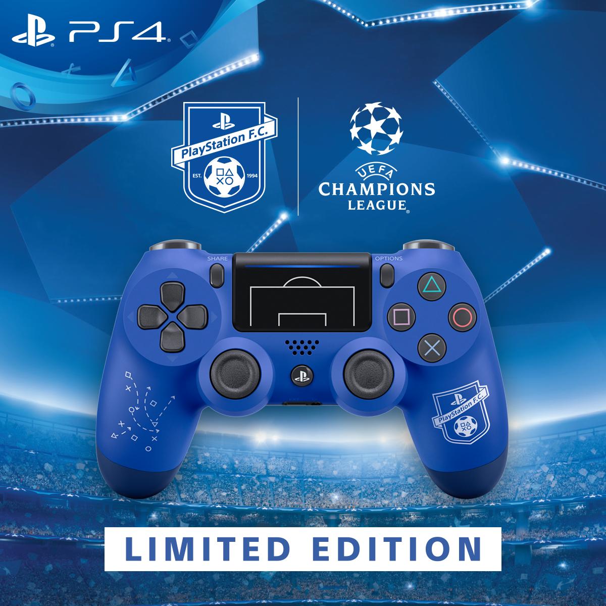 Беспроводной джойстик Sony Dualshock 4 V2 F.C. Limited Edition