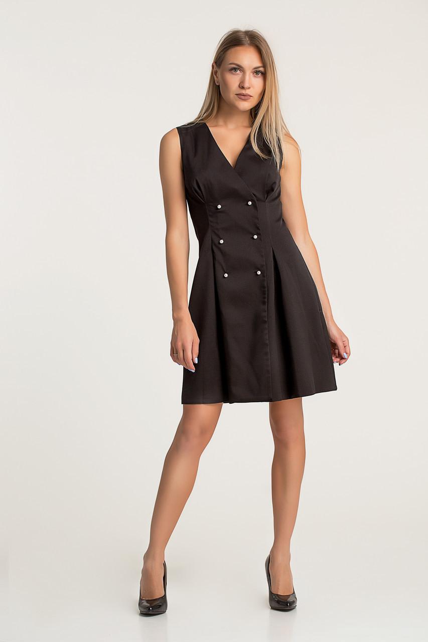 Платье LiLove 418  46 черный