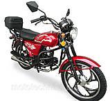 Мотоцикл Musstang Alfa MT110-2 red красный, фото 2