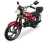 Мотоцикл Musstang Alfa MT110-2 red красный, фото 3