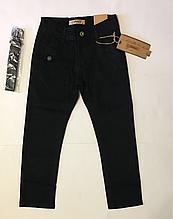 Джинсы чёрные для мальчиков 116-146