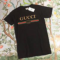 Женская футболка в стиле Gucci   Топ Качество