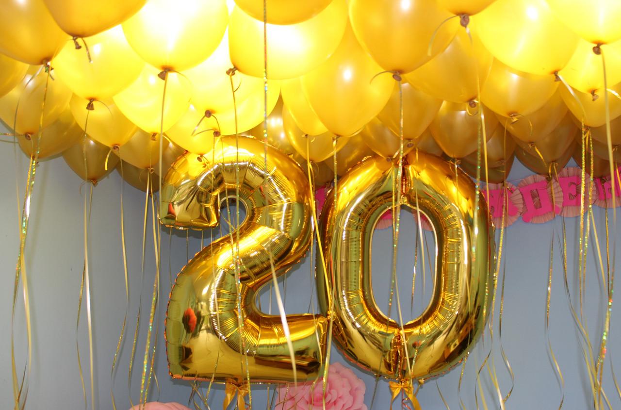 2 цифри і 50 кульок під стелю