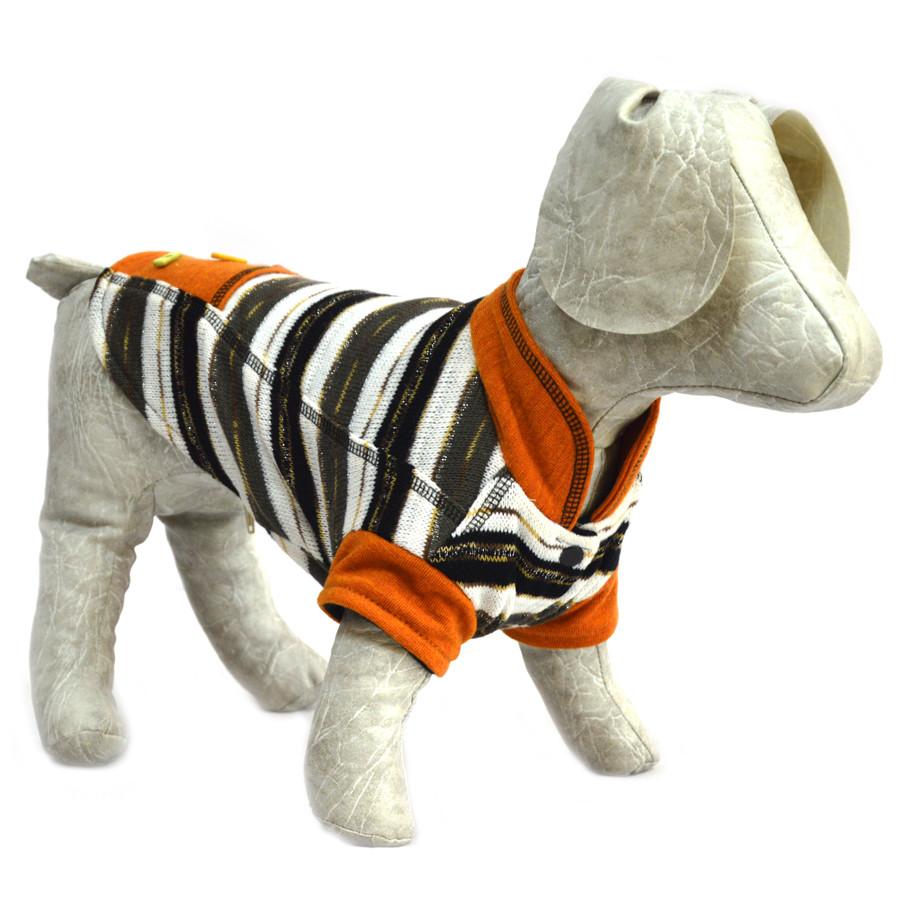 Жакет для собак Трикотаж бежевый