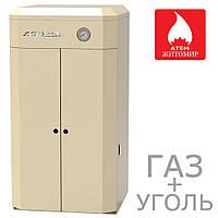 Газовый котел универсальный Газ+Уголь АТЕМ Житомир-9 КС-Г-010 СН / АОТВ-10