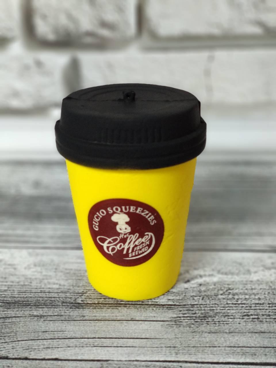 Анти-стрессовая игрушка «Сквиши-кофе»