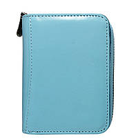 Женский кожаный мини-кошелек Lorenti 5157-NIC L. Blue, фото 1