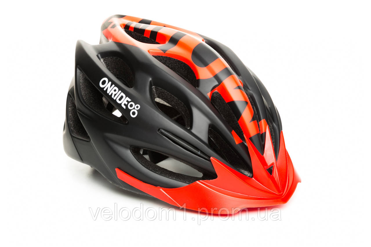 Шлем OnRide Mount черно-красн