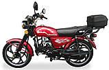 Мотоцикл Musstang Alfa MT110-2 red красный, фото 5