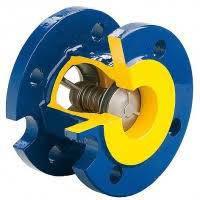 Клапан обратный Ду100 фланцевый подпружиненный  Ру16
