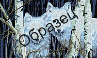 """Схема для вышивки бисером """"Волк"""""""