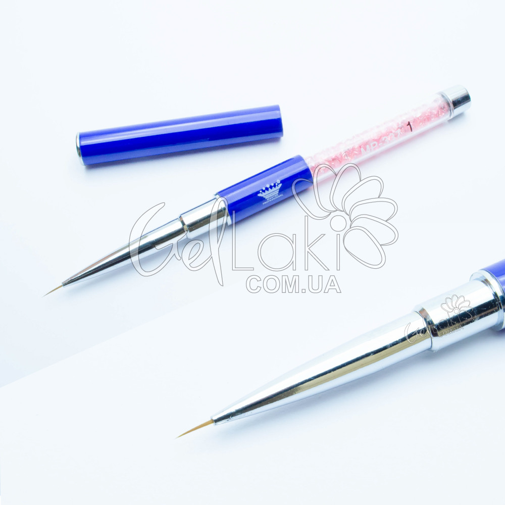 Кисть для дизайна ногтей (MP-337) №1, 7 мм