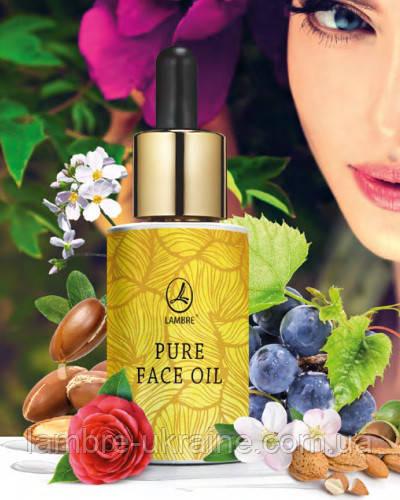 Pure face oil Lambre - омолаживающее масло для лица и шеи - 15ml