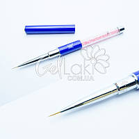 Кисть для дизайна ногтей (MP-338) №2, 8 мм