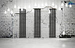 Трубчасті дизайнерські радіатори опалення