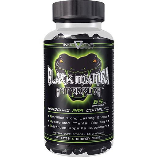 Жіросжігателя Innovative Labs Black Mamba Hyperrush 90 caps