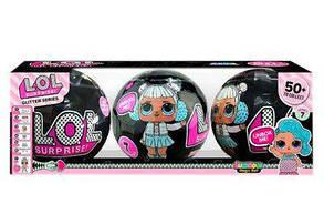 Кукла в шаре LoL Surprise ЛОЛ 3шт в коробке, фото 2
