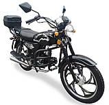 Мотоцикл Musstang Alfa MT110-2 black черный, фото 2