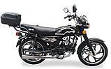 Мотоцикл Musstang Alfa MT110-2 black черный, фото 3
