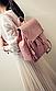 Модный рюкзак с клапаном на затяжке, фото 3