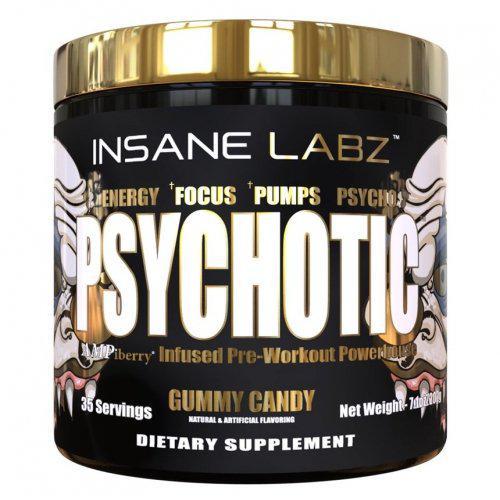 Предтренировочный комплекс Insane Labz Psychotic Gold 204 g