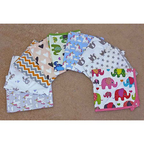 Непромокаемая пеленка  для ухода за детьми 50х70см (цвета разные)