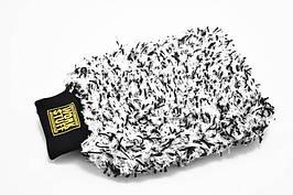 Рукавица для мойки автомобиля - Work Stuff Storm бело-черная (904416)