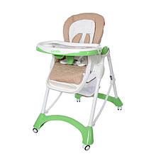 *Стульчик для кормления Carrello Caramel Light Green арт. CRL-9501/1