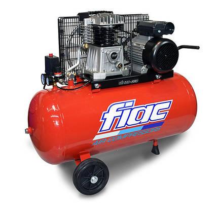 Компрессор поршневой FIAC AB 200-360 (220V)  (ресивер 200 л, пр-сть 360 л/мин), фото 2