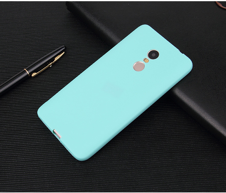 Чехол Style для Xiaomi Redmi Note 4X / Note 4 Global Version Бампер силиконовый Mint