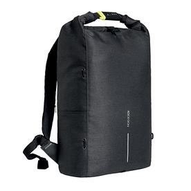 Рюкзак Bobby Urban Lite от XD Design. Увеличение объема roll top, система анти-вор. P705.501 Black
