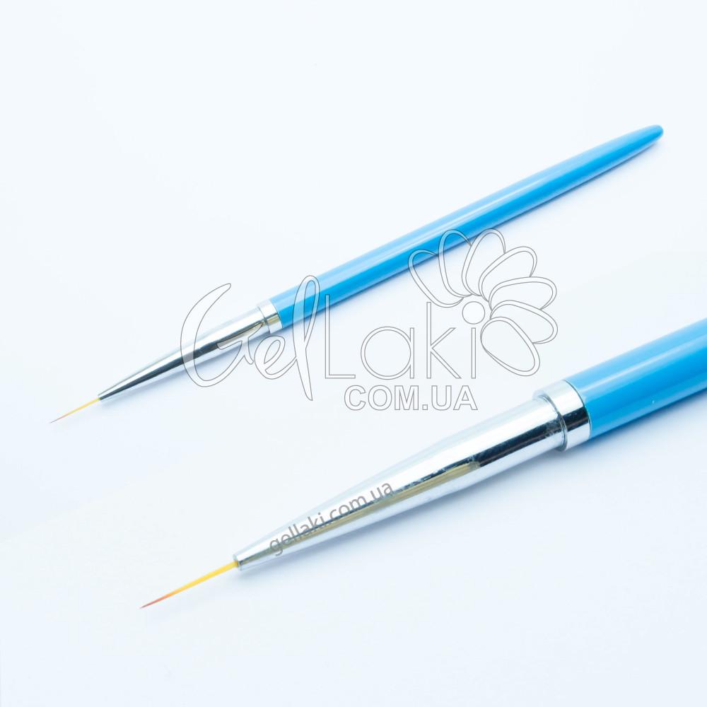 Кисть для рисования SokTeal (голубая), 10 мм