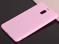 Чехол Style для Meizu M6 Note Бампер силиконовый розовый