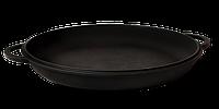 Крышка-сковорода чугунная, не эмалированная, ТМ Термо. Диаметр 300мм., фото 1