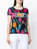 Футболка TRAIN GRAPHIC SERIES w tee rn allover Emporio Armani EA7 оригинал