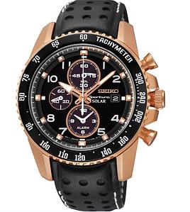Часы мужские Seiko Sportura Solar Chronograph  SE-SSC274