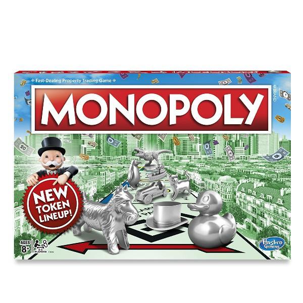 Hasbro Настольная игра Классическая Монополия Monopoly Classic Game C1009