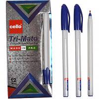 Ручка масляная TRI-MATE 1779 синяя