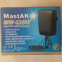 Универсальный блок питания от 3V до 12V 2250 mAh MastAK MW-2250i, фото 1