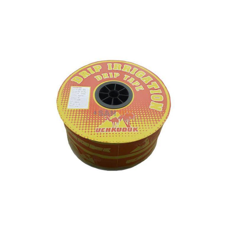 Капельная лента UCHKUDUK DRIP TAPE 7 mil 20 см - 2000 м - 0,8L